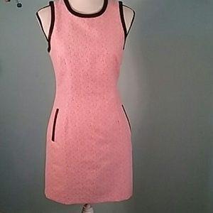 Pim & Larkin small fitted dress pink mini shift